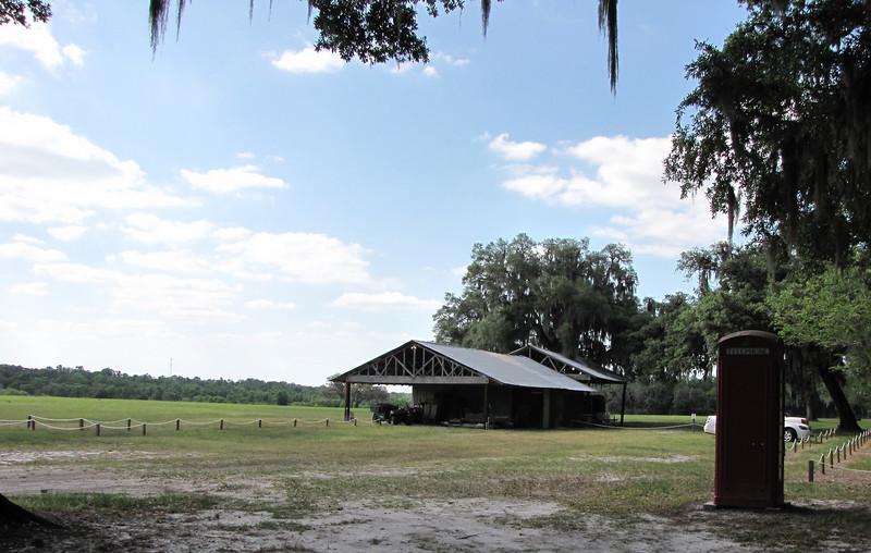 View of Meadow Towards Pond - Ellel Ministries - English Acres USA - Lithia, FL