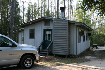 """Egret"" Cabin at Adventures Unlimited - Milton, Florida."