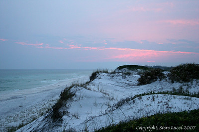 Grayton Beach State Park at Sunset