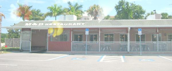 M&D's Restaurant - Osprey, Florida - Exterior