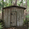 Outhouse at Morningside Living History Farm