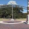 Entrance to Treaty Oak Park - Jacksonville, FL