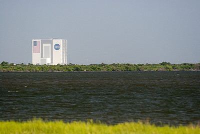 VAB, seen from the Causeway -- Touring the Kennedy Space Center