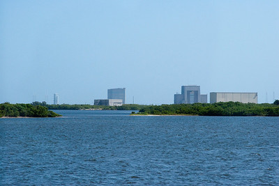 Other launch pads, seen from the Causeway -- Touring the Kennedy Space Center