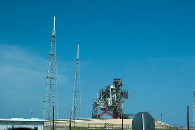 Launch pad 39B -- Touring the Kennedy Space Center