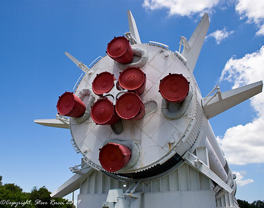 Business end of Saturn 1-B - Kennedy Space Center, Rocket Park