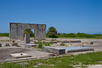 Remains of the launch complex where the Apollo I fire occurred - Canaveral Air Force Station.