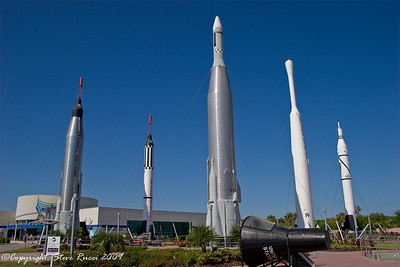 Kennedy Space Center, Rocket Park