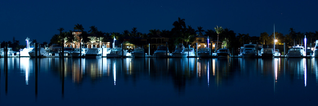 "Naples Florida - photo taken a short walk from the Dock restaurant.<br /> Cropped for a 36""x12"" print or a 30""x10"" print."