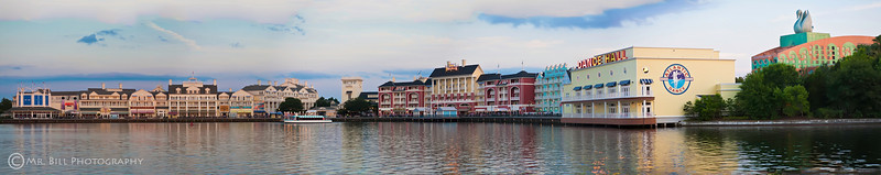 Disney Boardwalk in Orlando, Florida