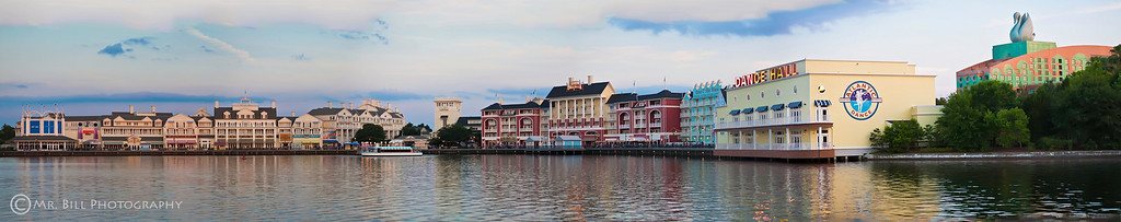 Disney Boardwalk in Orlando, Florida