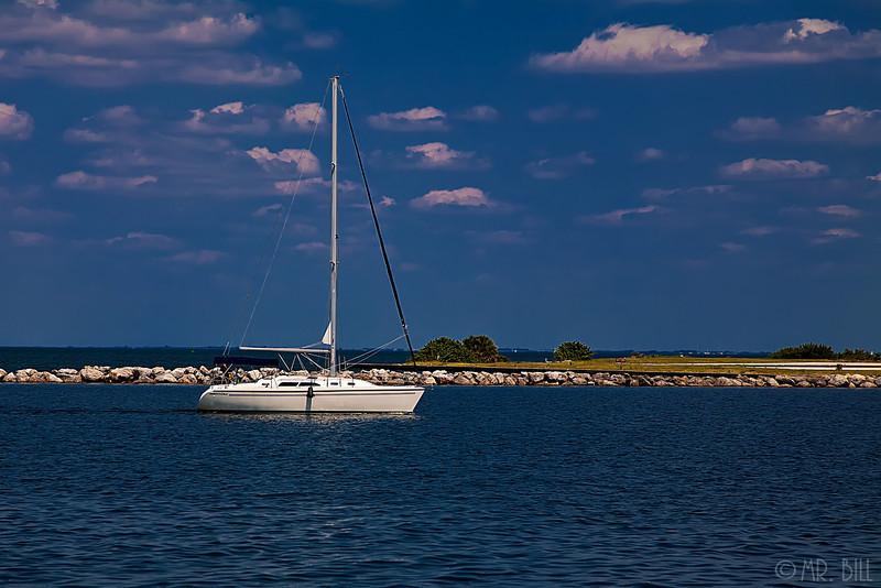 Sailboat @ St. Petersburg, Fl