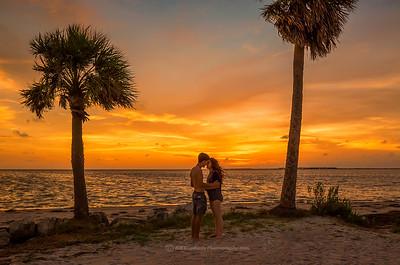 Sunset Beach, Fla - Couple in love