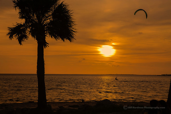 Sunset Beach, Fla - Wind Surfing
