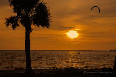 Sunset Beach, Fla - Wind Surfing