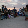 """'SUNSET DRUMMING CIRCLE on the beach - Casey Key / Nokomis   WHEN:   Sat. – gathering between 6-7pm-ish (it's VERY spontaneous!!).  Wed. also in Peak Season – I think that's about U.S.Thanksgiving to Easter).    This Is one of the activities I MISS THE MOST living in Costa Rica!!!  Bring a drum or some sort of musical instrument & just join in (I put kidney beans in a plastic bottle & called it an instrument) or get in the middle & just move!!!  It's a WILD looking group of people!  JUST BE!!  VERY MUCH individuals!!  Hence you have lots of people that WISH they could be more free surrounding them watching – OCCASIONALLY joining in (that's SOOOO COOL!!!!).  Watch VERY CAREFULLY for the """"Green Flash"""" that few people are blessed to see (not me yet) that happens JUST as the sun hits the horizon.  People then cheer/bless the day off!!  This is NOT the party place that I've observed the times I've been to the Sarasota circle so even kids are welcome (I think it's GREAT to bring kids not used to being around """"different"""" types of people as it opens their eyes/hearts to see people that are different are just that – different – NO threat & maybe they'll feel inspired to be more free in their world!!     See pics at http://escape-to-sarasota.com/nokomis-beach.htm / http://NokomisBeachDrumCircle.com  There's a publication - Bay Area Drumming that you can get a free internet copy of at BayAreaDrumming@TampaBay.rr.com  Check out this great video by Andy Browne<br> https://vimeo.com/105491327"""