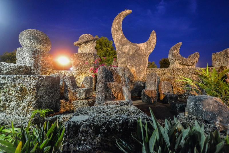 Coral Castle Moon, Miami