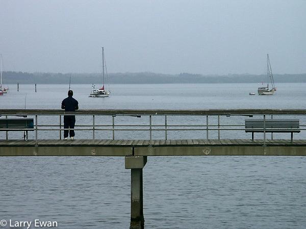 Fishing pier, Titusville, FL.