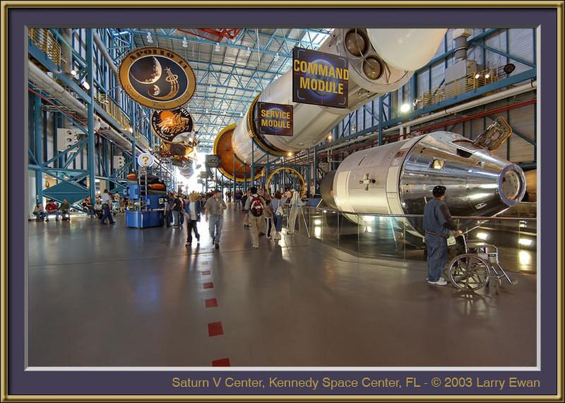 Saturn V Center, KSC