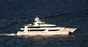 165 foot Westport motor yacht underway