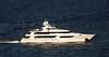 165 foot Westport motor yacht underway