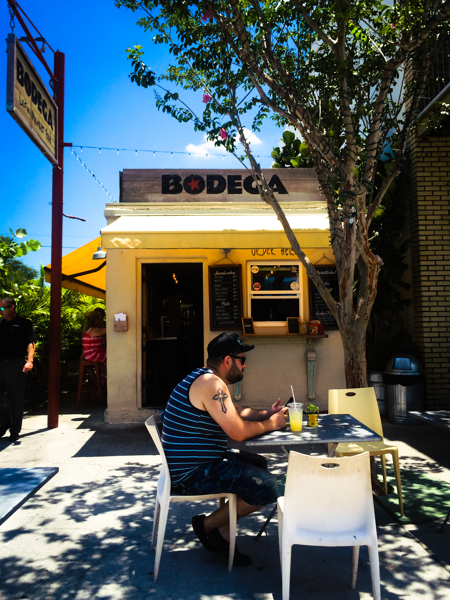 Bodega is just one of the amazing restaurants in St.Petersburg you'll want to visit.