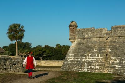 "Castillo de San Marcos ""Arriving for Duty"""