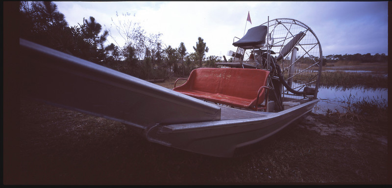 Airboat at Grassy Waters preserve