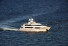 165 foot Westport motor yacht underway off of Palm Beach