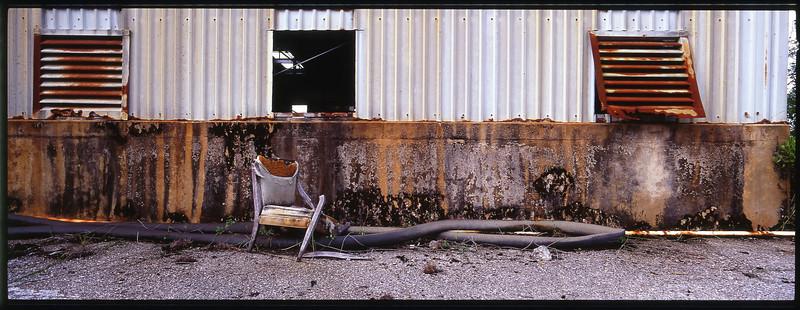 Abandoned carbide plant, Palm Beach County, Florida