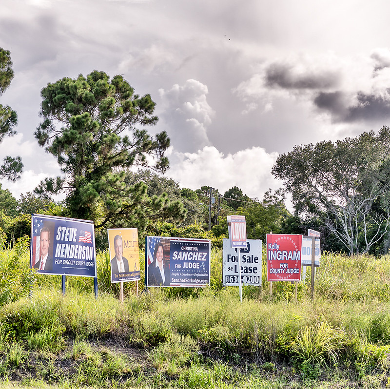 Political pollution, Port St. John, FL