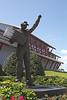 Dale Earnhardt statue at Daytona Speedway