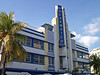 Breakwater Hotel an example of Art Deco Architecture style of SoBe - South Miami Beach - Florida