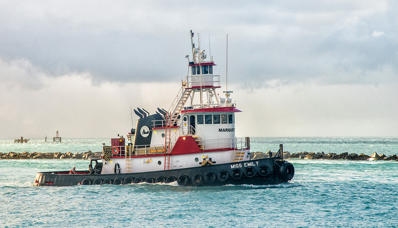 Tug Miss Emily, Miami Florida, Government Cut