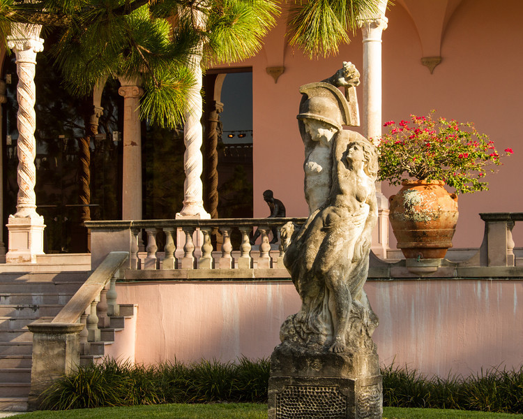 Courtyard- Ringling Museum of Art, Sarasota.