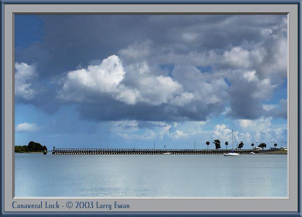 Canaveral Lock, Banana River side.