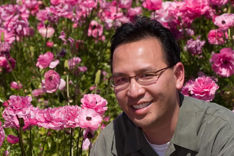 Vu in the Flower Fields