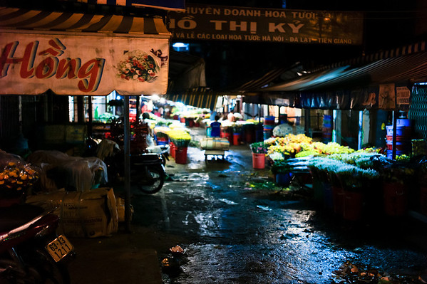 Flower Night Market, Ho Chi Minh City