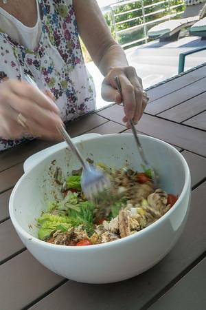 Salade Niçoise de Stacey.  Très délicieux