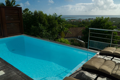 The pool - with a view!
