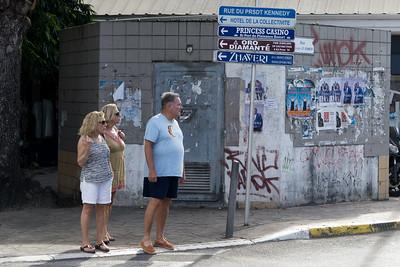 Marigot street corner.