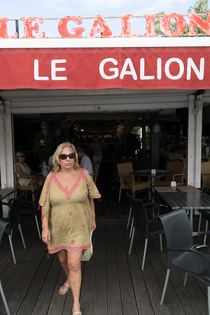 After a wonderfull lunch on the water—Le Galion.