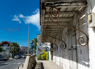 Old building in Marigot.