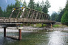 "Old wooden bridge on the edge of town. This was the bridge ""to Portland"" in the 1981 Rambo movie First Blood."