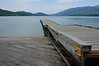 At the City Beach, Whitefish, Montana. Apparently you are not allowed to walk on that dock.