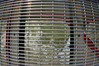 Looking through the grates of the suspension bridge. Anything dropped would probably wash up in Vancouver eventually.