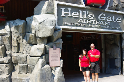 Hell's Gate Air Tram - Fraser River, BC