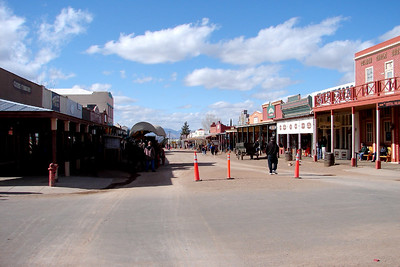 1/13/07 2:08PM - Tombstone, Arizona looking north.  All right, my visit there was pretty brief.  Had other places to be the next morning so I couldn't stay long.