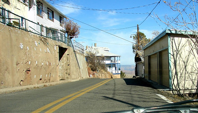 1/14/07- First of a series of shots taken as I drove the serpentine streets of Jerome from top to bottom.