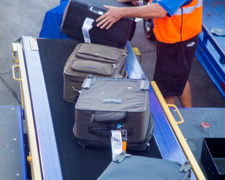 My suitcase gets on the airplane.  Then Southwest took 2 days to find it in Chicago.
